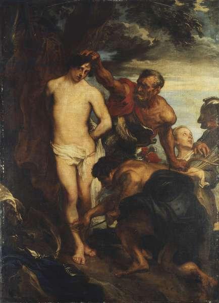 Saint Sebastian prepared for Martydom, c.1622 (oil on canvas)