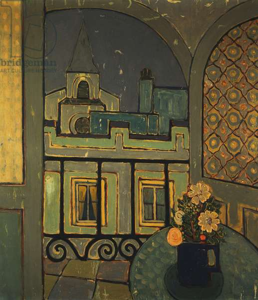 The Window, 1936 (oil on canvsa)