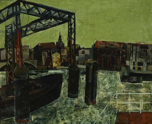 City from Bankside, 1946 (oil on canvas)