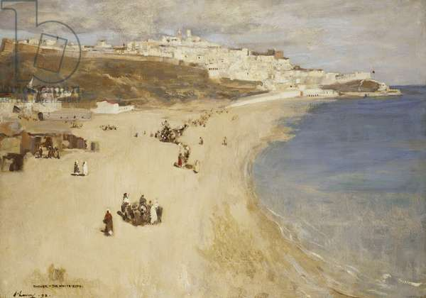 Tangier, the White City, 1893 (oil on canvas)