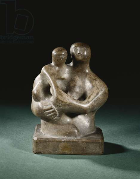 Mother and Child, 1932 (carved and polished concrete)