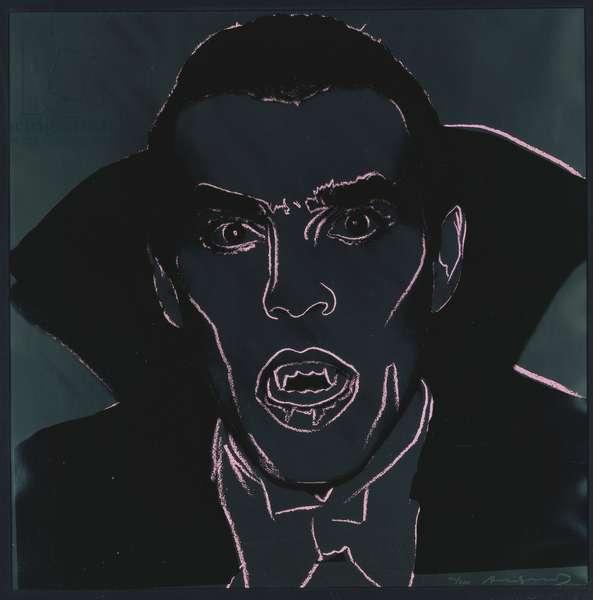 Dracula, from 'Myths', 1981 (colour screenprint)