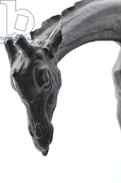 Large Giraffe with Lowered Head, modeled 1909-10, cast before 1913 (bronze) (see also 3084917-43)