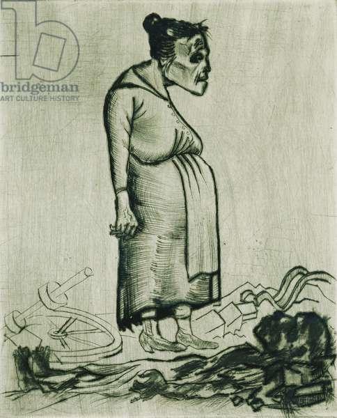 Pregnancy; Schwangerschaft, 1922 (drypoint on wove paper)