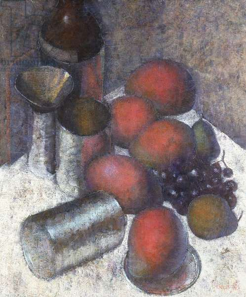 Mangoes, 1980 (oil on canvas)