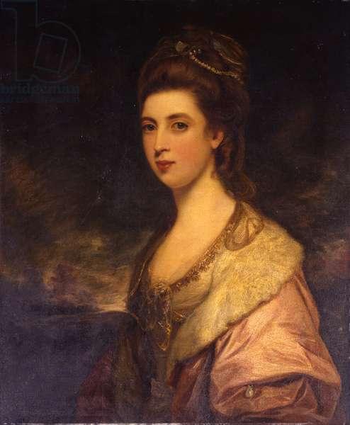 Portrait of Anne Susanna Warburton, Mrs. Richard Pennant (oil on canvas)