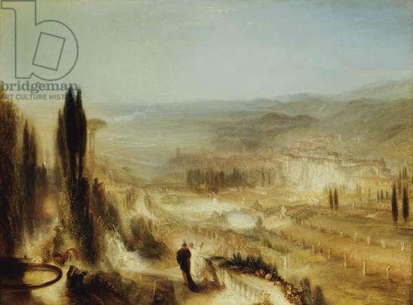 Cicero at his Villa, c.1839 (oil on canvas)