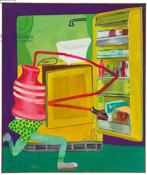 Ice Box 8, 1963 (oil on canvas)