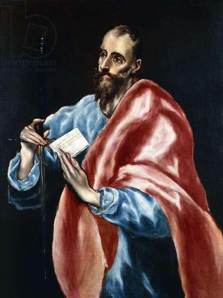 Saint Paul,  (oil on canvas)