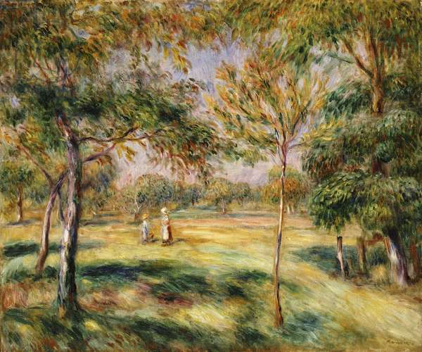 The Glade, 1895 (oil on canvas)