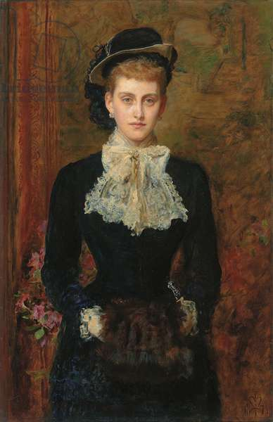Countess de Pourtales, the Former Mrs, 1876 (oil on canvas)