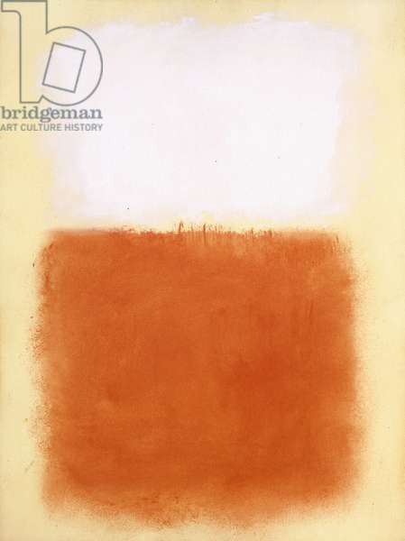 Untitled, c.1955 (oil on paper mounted on canvas)