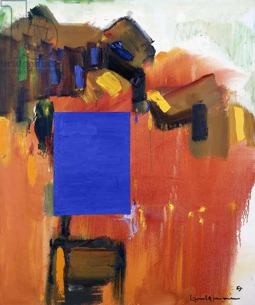 Paling Moon, 1965 (oilon canvas)