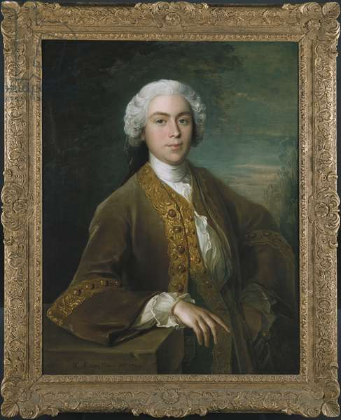 Portrait of Lord Trimelston, 1744 (oil on canvas)