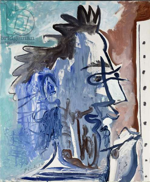 The Artist I, 1963 (oil on canvas)