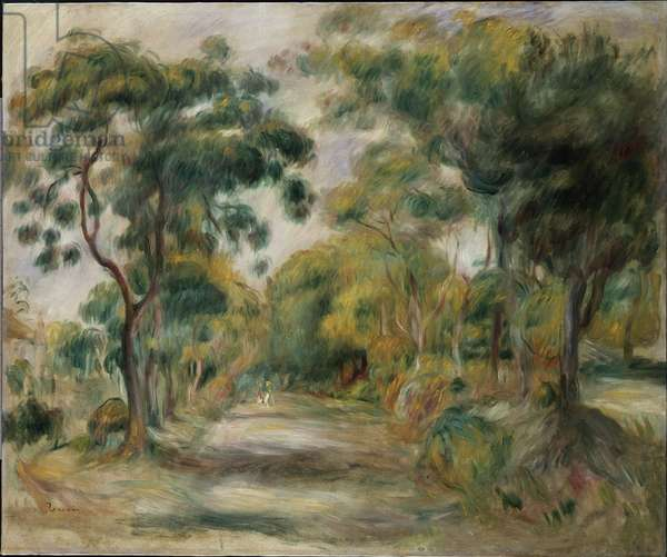 Landscape at Noon, 1900 (oil on canvas)