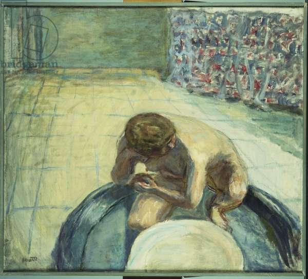 Woman in a Bath, c.1917 (oil on canvas)