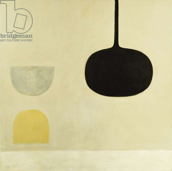 Three Forms, 1971, 1971 (oil on canvas)