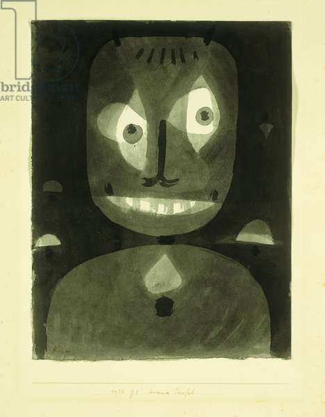 Dummer Teufel, 1938 (watercolour on paper laid down on paper)