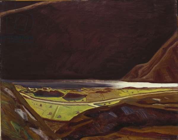 Lougheraherk (Ireland) #17, 1926-27 (oil on board)