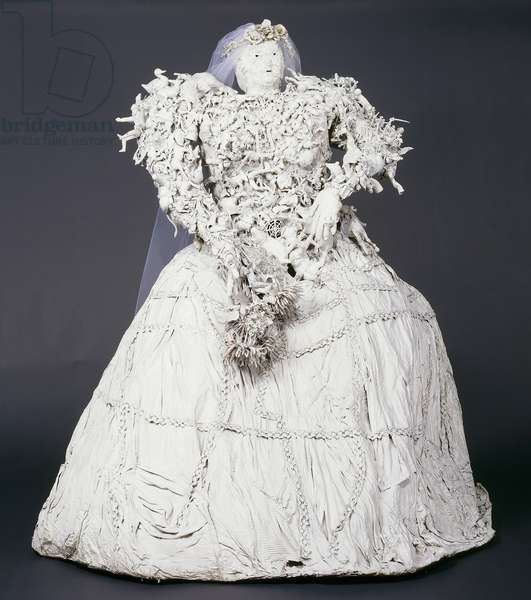 The Bride; La Mariee, 1963 (assemblage)