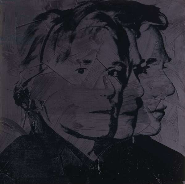Self-portrait, 1978 (synthetic polymer silkscreened on canvas)