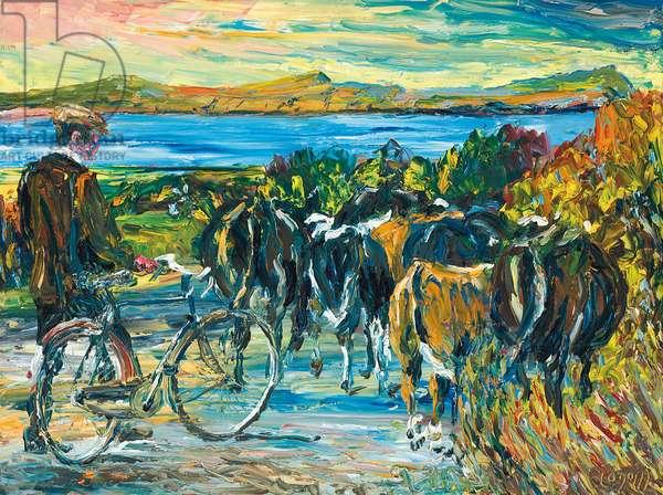 Abhaile Libh (oil on canvas)