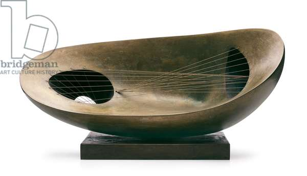 Landscape Sculpture (1944), 1944 ; 1961 (bronze with green patina and string)
