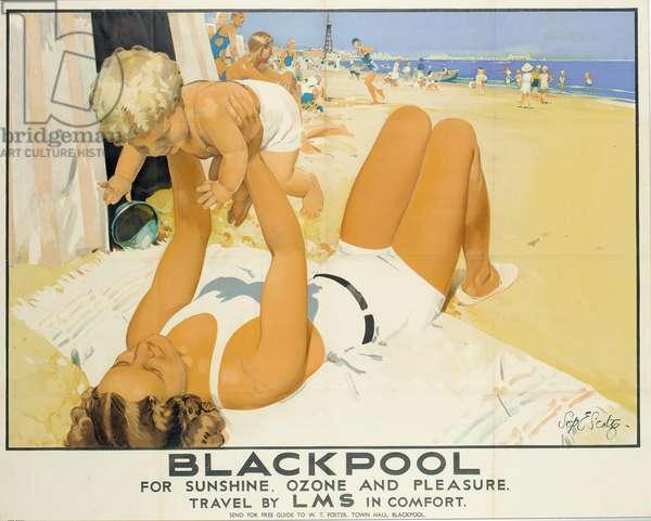 Blackpool (colour litho)