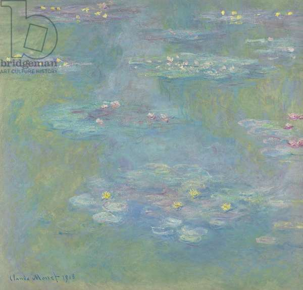 Water Lilies; Nympheas, 1908 (oil on canvas)