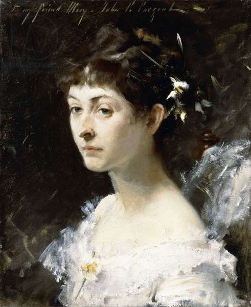 Portrait of Mary Turner Austin, c.1878 (oil on canvas)