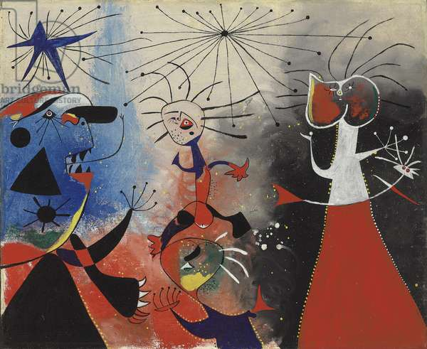 The Caress of the Stars, 1938 (oil on canvas)