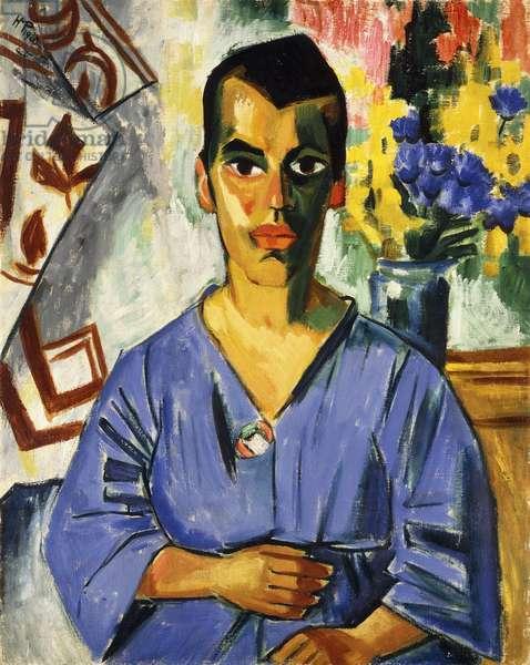 Convalescents; Rekonvalescentin, 1920 (oil on canvas)