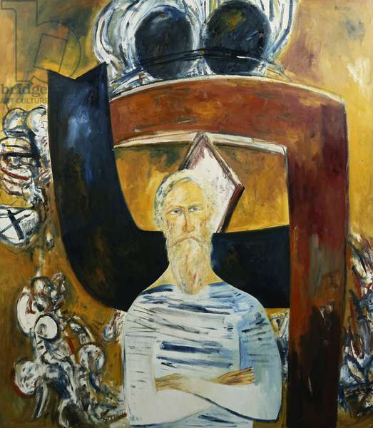 Alan Davie, 1985 (oil on canvas)