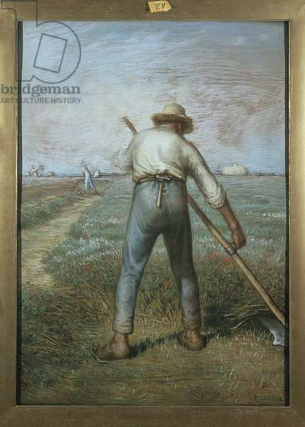 The Reaper, c.1866-68 (pastel & black crayon on paper)