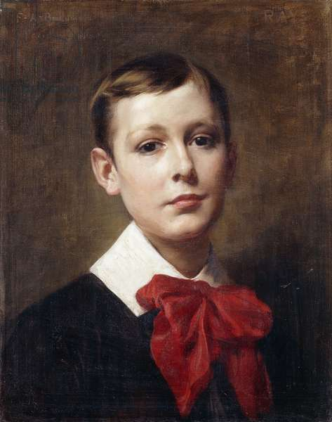 Portrait of Ray, 1891 (oil on canvas)