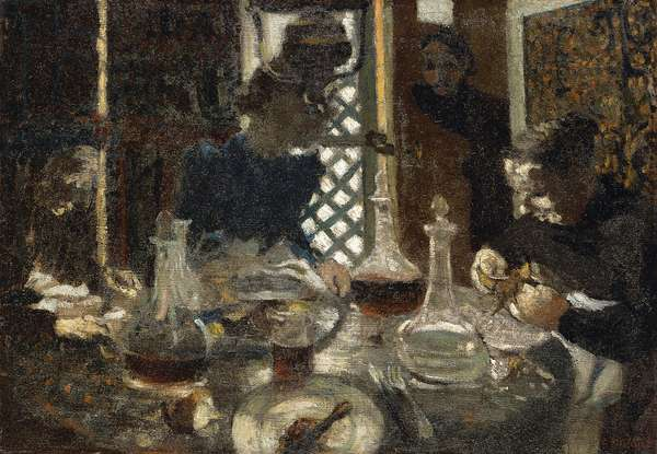 A Table (Breakfast), 1892 (oil on canvas)