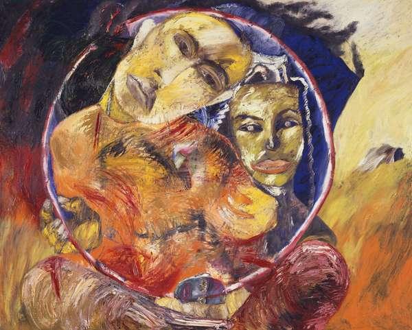 The Midnight Sun IX, 1982 (oil on canvas)