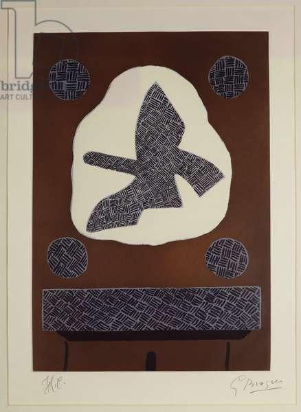 The Bird of Passage, 1961 (aquatint)