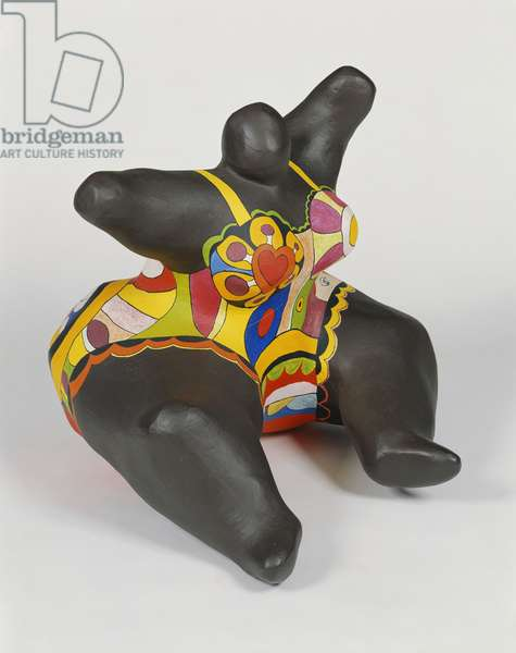 Doll Sitting; Nana Assise, 1968 (hand painted polyester)