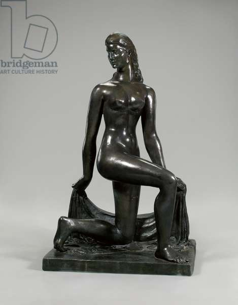 'Spirit of the Dance', 1932 (bronze with brown patina)