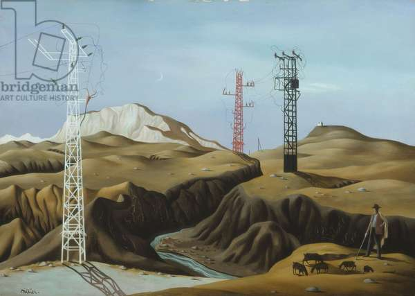 Larayne, 1937 (tempera on panel)