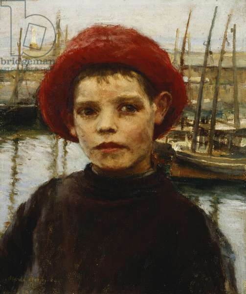 Fisher Boy, 1904 (oil on canvas)