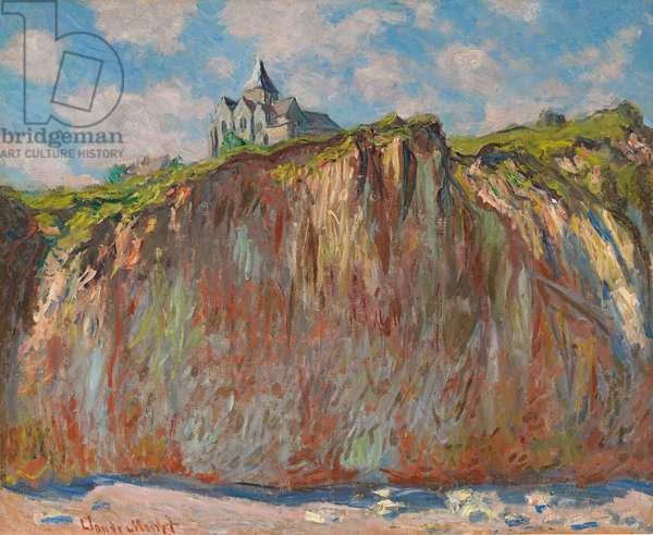 Church of Varengeville, Morning Effect; Eglise de Varengeville, effet matinal, 1882 (oil on canvas)