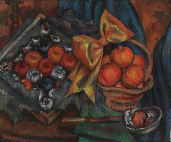 Still Life with Pomegranates and Fruit, 1930 (oil on canvas)