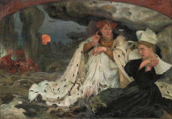 Breton Legend, 1906 (oil on canvas)