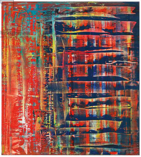 Abstract Painting (779-2); Abstraktes Bild (779-2), 1992 (oil on canvas)