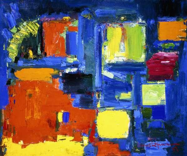 The Ocean, 1957 (oil on canvas)