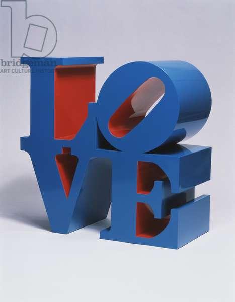 Love, 1995 (painted aluminium)