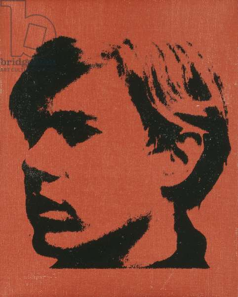 Self-portrait, 1967 (synthetic polymer and silkscreen inks on canvas)